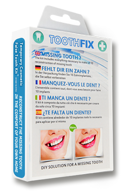 TOOTHFIX - DIY solution for a missing tooth